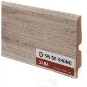 Плинтус МДФ ламинированный Kronopol P85 3486, Latino Oak, 2500х85х16мм, 9шт/уп