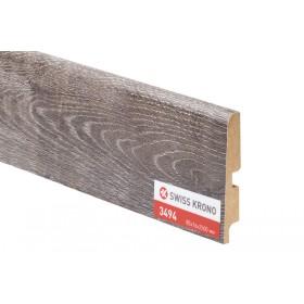 Плинтус МДФ ламинированный Kronopol P85 3494, Pepper Oak, 2500х85х16мм, 9шт/уп