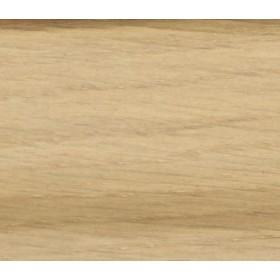 Плинтус шпонированный Pedross 95х15х2500 Дуб беленый, 1 м.п.