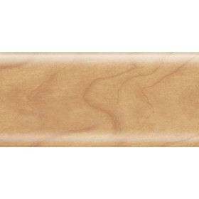 Пластиковый плинтус Rico Leo 56х22х2500 с кабель-каналом 118 Орех грецкий