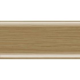 Пластиковый плинтус Rico Leo 56х22х2500 с кабель-каналом 120 Дуб рустикальный