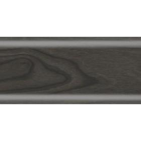 Пластиковый плинтус Rico Leo 56х22х2500 с кабель-каналом 150 Эбен