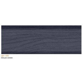 Пластиковый плинтус T.plast (58 мм) с кабель-каналом 58х22х2500мм 035 Ольха синяя