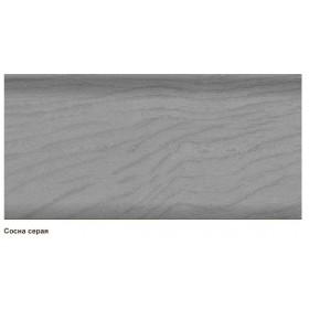 Пластиковый плинтус T.plast (58 мм) с кабель-каналом 58х22х2500мм 036 Сосна серая