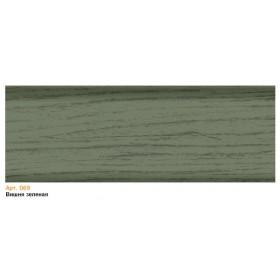 Пластиковый плинтус T.plast (58 мм) с кабель-каналом 58х22х2500мм 069 Вишня зеленая