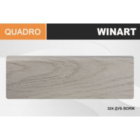 Плинтус Winart QUADRO с кабель-каналом 80х22х2200 Дуб вояж 324