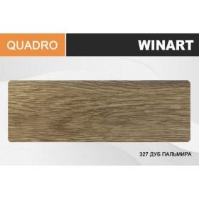 Плинтус Winart QUADRO с кабель-каналом 80х22х2200 Дуб пальмира 327