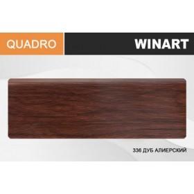 Плинтус Winart QUADRO с кабель-каналом 80х22х2200 Дуб алиерский 336