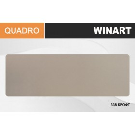 Плинтус Winart QUADRO с кабель-каналом 80х22х2200 Крофт 338