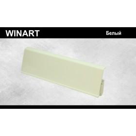 Плинтус Winart Tera с кабель-каналом 72х22х2200 Белый 701