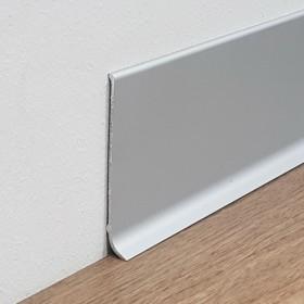 Алюминиевый плинтус Fezard ALP-100 Белый 10х100 мм
