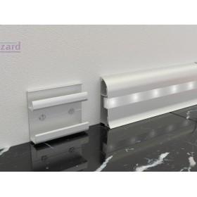 Алюминиевый плинтус Fezard ALP-C65-led