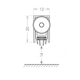 Автоматический порог Armadillo (Армадилло) EASY TREND ASTD A1/630