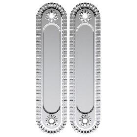 Ручка Armadillo (Армадилло) для раздвижных дверей SH010/CL SILVER-925 Серебро 925