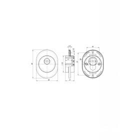 Броненакладка DEF Fuaro (Фуаро) 4825 CP ХРОМ