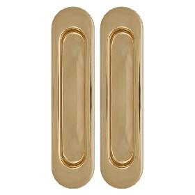 Ручка Armadillo (Армадилло) для раздвижных дверей SH010-GP-2 Золото