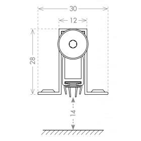 Автоматический порог Armadillo (Армадилло) EASY CON ALETTE ASAL A1/830