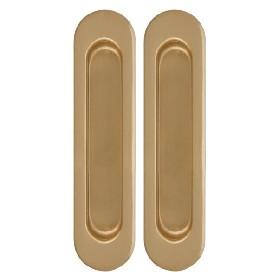 Ручка Armadillo (Армадилло) для раздвижных дверей SH010-SG-1 Матовое золото