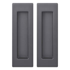 Ручка Armadillo (Армадилло) для раздвижных дверей SH010 URB BPVD-77 Вороненый никель