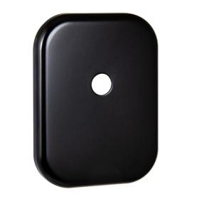 Декоративная накладка Fuaro (Фуаро) под шток ESC 486-O SQ XL BL-24 (черный), 1 шт.