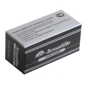 Глазок дверной, Armadillo (Армадилло) стеклянная оптика DVG2, 16/55х85 SN Мат. никель