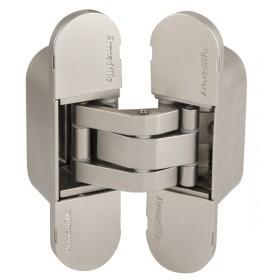 Петля скрытой Armadillo (Армадилло) установки с 3D-регулировкой 11160UN3D (Architect 3D-ACH UNIVERSAL 60) SN Мат никель