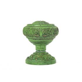 Дверная ручка Manzzaro Art 300 AG античная бронза (green)