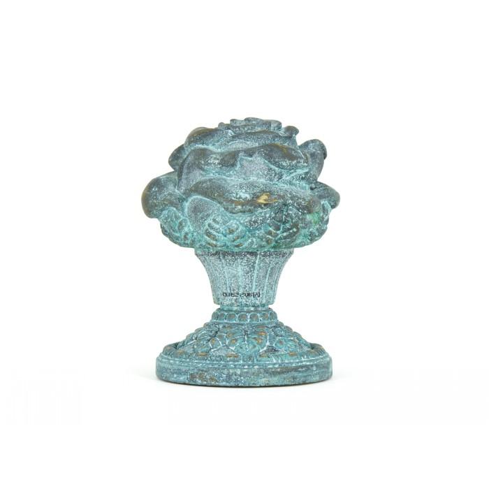Дверная ручка Manzzaro Art 200 AG античная бронза (blue)