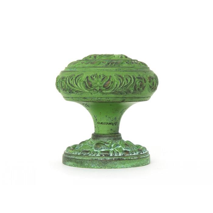 Дверная ручка Manzzaro Art 500 AG античная бронза (green)
