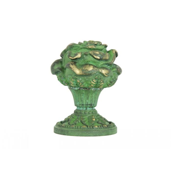 Дверная ручка Manzzaro Art 200 AG античная бронза (green)
