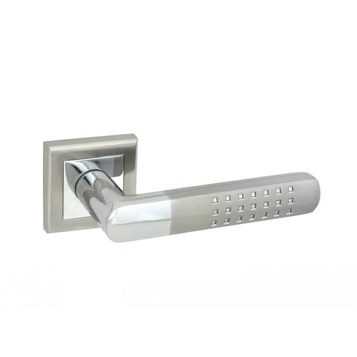 Дверная ручка Palladium A Terreno SN/CP Матовый никель