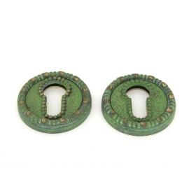 Накладка Manzzaro Art ET AG античная бронза (green)