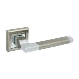Дверная ручка Palladium A Carrino SN Матовый никель