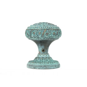 Дверная ручка Manzzaro Art 100 AG античная бронза (blue)