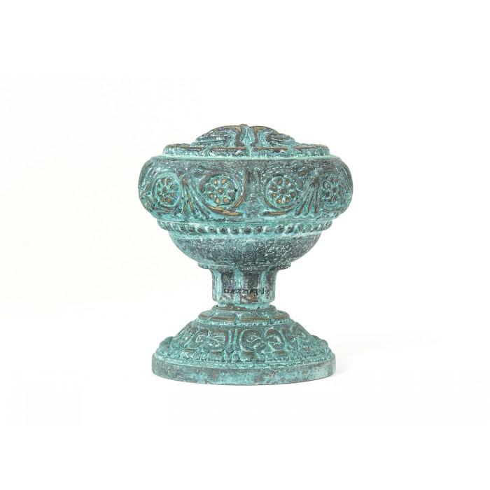 Дверная ручка Manzzaro Art 300 AG античная бронза (blue)