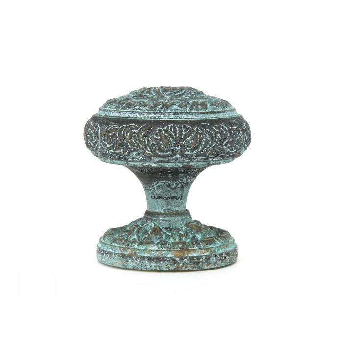 Дверная ручка Manzzaro Art 500 AG античная бронза (blue)