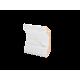 Плинтус потолочный МДФ грунтованный под покраску К 1.97.20 Ликорн 69х69 мм
