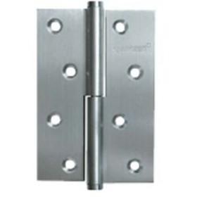 Дверные петли Archie A010-D 100X70X3-132 L (разъемная левая) без короны матовый хром