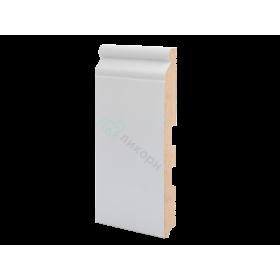 Плинтус напольный МДФ грунтованный под покраску Р 19.185.16 Ликорн 185 мм