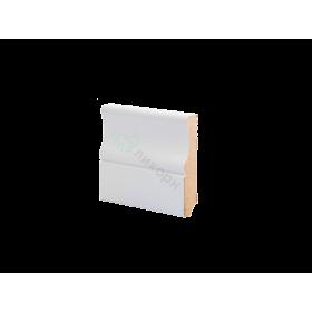 Плинтус напольный МДФ грунтованный под покраску Р 14.82.16 Ликорн 82 мм