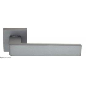 Дверная ручка на квадратном основании Fratelli Cattini BOOM 8-GA антрацит серый