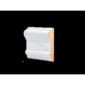 Молдинг настенный МДФ грунтованный под покраску М 7.96.25 Ликорн 9625 мм