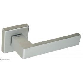 Дверная ручка на квадратном основании Fratelli Cattini BOOM DIY 8-CS матовый хром