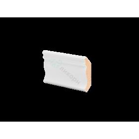 Плинтус потолочный МДФ грунтованный под покраску К 4.60.16 Ликорн 40х41 мм