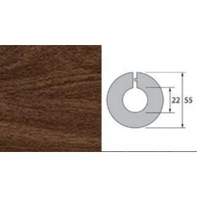 Обвод для труб Идеал 22 мм 292 Орех миланский