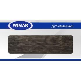 Плинтус Wimar (Вимар), ПВХ, с кабель-каналом 823 Дуб каменный, 58 мм.