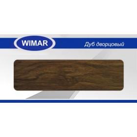 Плинтус Wimar (Вимар), ПВХ, с кабель-каналом 813 Дуб дворцовый, 58 мм.