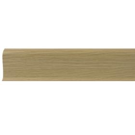 Плинтус ПВХ Line Plast L011 Дуб светлый 2500х58х28 мм