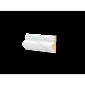 Молдинг настенный МДФ грунтованный под покраску М 2.42.16 Ликорн 42х16 мм