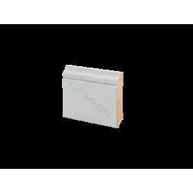 Плинтус напольный МДФ грунтованный под покраску Р 17.70.12 Ликорн 70 мм